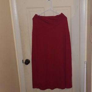 Read long skirt